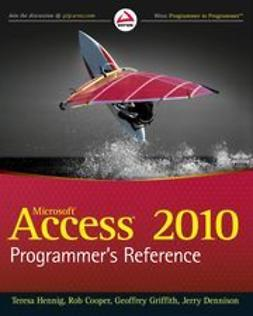 Cooper, Rob - Access 2010 Programmer's Reference, ebook