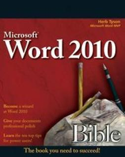 Tyson, Herb - Word 2010 Bible, e-kirja