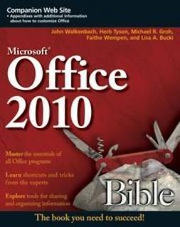 Walkenbach, John - Office 2010 Bible, ebook