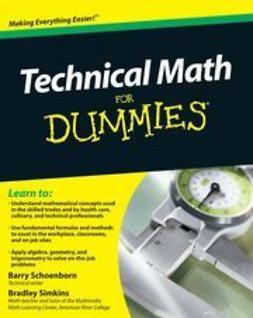 Schoenborn, Barry - Technical Math For Dummies, e-kirja
