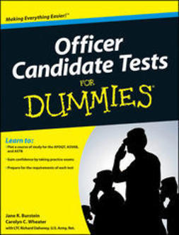 Burstein, Jane R. - Officer Candidate Tests For Dummies, ebook