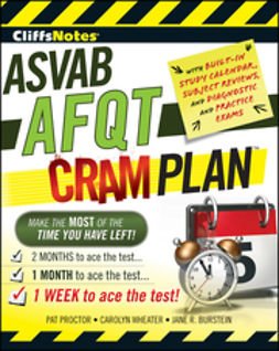 - CliffsNotes ASVAB AFQT Cram Plan, ebook