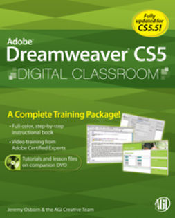 Heald, Greg - Dreamweaver CS5 Digital Classroom, (Covers CS5 and CS5.5), e-bok