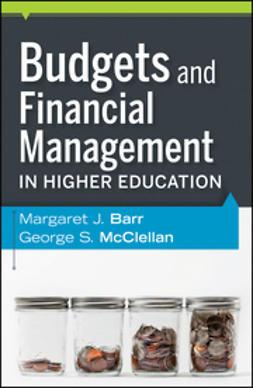 Barr, Margaret J. - Budgets and Financial Management in Higher Education, e-bok