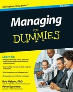 Nelson, Bob - Managing For Dummies®, e-kirja