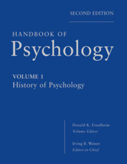 Weiner, Irving - Handbook of Psychology, History of Psychology, ebook