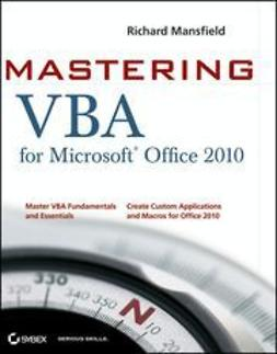 Mansfield, Richard - Mastering VBA for Office 2010, ebook