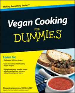 Jamieson, Alexandra - Vegan Cooking For Dummies, e-kirja
