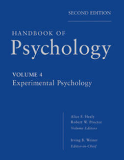 Weiner, Irving - Handbook of Psychology, Experimental Psychology, ebook