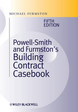 Furmston, Michael - Building Contract Casebook, ebook