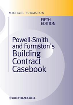 Furmston, Michael - Building Contract Casebook, ebook