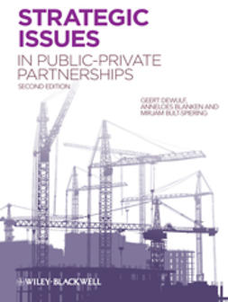 Dewulf, Geert - Strategic Issues in Public-Private Partnerships, ebook
