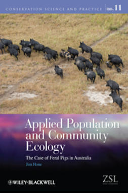 Hone, Jim - Applied Population and Community Ecology: The Case of Feral Pigs in Australia, ebook