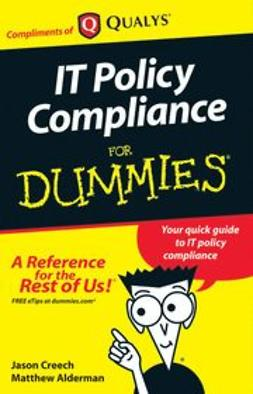 - IT policy Compliance For Dummies Digital, e-bok