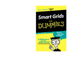 - Smart Grids For Dummies, ebook