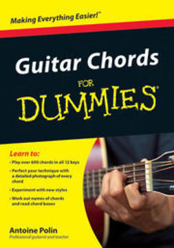Polin, Antoine - Guitar Chords for Dummies, ebook
