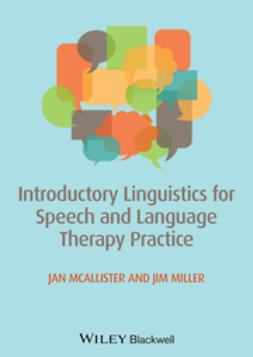 McAllister, Jan - Introductory Linguistics for Speech and Language Therapy Practice, ebook