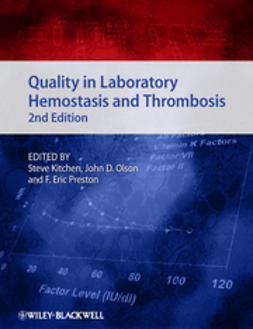 Kitchen, Steve - Quality in Laboratory Hemostasis and Thrombosis, ebook
