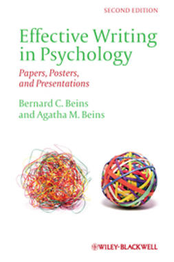 Beins, Agatha M. - Effective Writing in Psychology: Papers, Posters,and Presentations, ebook