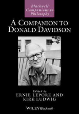 Lepore, Ernest - A Companion to Donald Davidson, e-bok