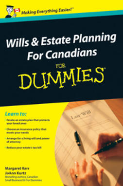 Kerr, Margaret - Wills and Estate Planning For Canadians For Dummies, ebook