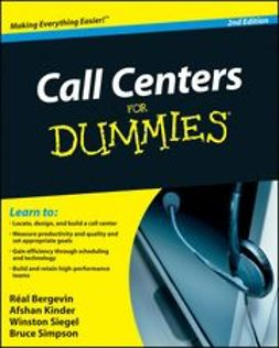 Basith-Kinder, Afshan - Call Centers For Dummies<sup>®</sup>, ebook