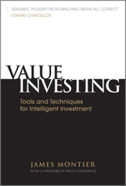 Montier, James - Value Investing: Tools and Techniques for Intelligent Investment, ebook