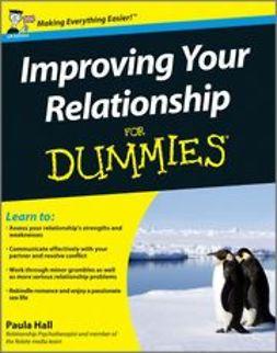Hall, Paula - Improving Your Relationship For Dummies, e-kirja