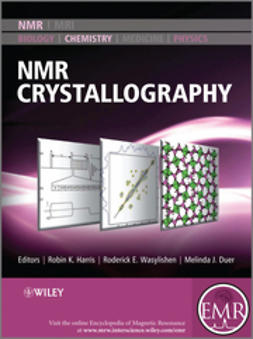 Duer, Melinda J. - NMR Crystallography, ebook