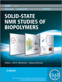 McDermott, Anne E. - Solid State NMR Studies of Biopolymers, ebook