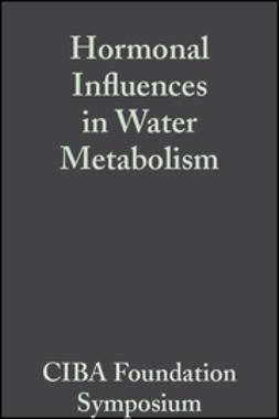 UNKNOWN - Hormonal Influences in Water Metabolism, Volume 4: Book 2 of Colloquia on Endocrinology, ebook