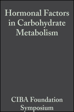 UNKNOWN - Hormonal Factors in Carbohydrate Metabolism: Volume 6: Colloquia on Endocrinology, ebook