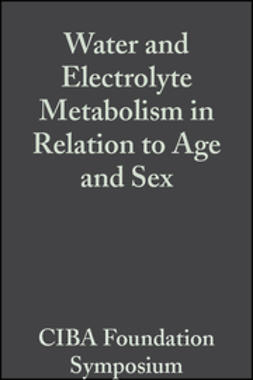 - Water and Electrolyte Metabolism in Relation to Age and Sex: Volume 4: Colloquia on Ageing, ebook