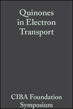 O'Connor, Cecilia M. - Quinones in Electron Transport, ebook