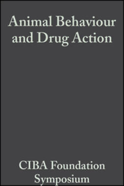 UNKNOWN - Animal Behaviour and Drug Action, ebook