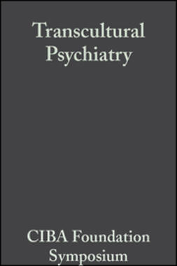 Porter, Ruth - Transcultural Psychiatry, ebook