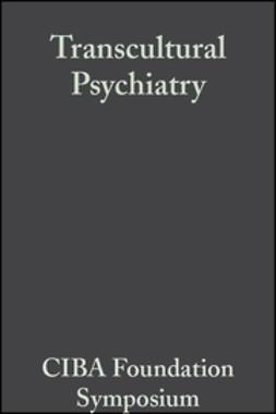 Porter, Ruth - Transcultural Psychiatry, e-bok