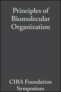O'Connor, Maeve - Principles of Biomolecular Organization, ebook