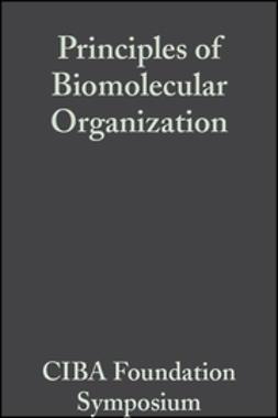 - Principles of Biomolecular Organization, ebook