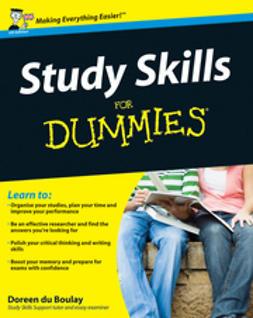 Boulay, Doreen  du - Study Skills For Dummies, ebook