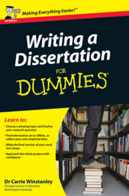 Writing a Dissertation For Dummies<sup>®</sup>