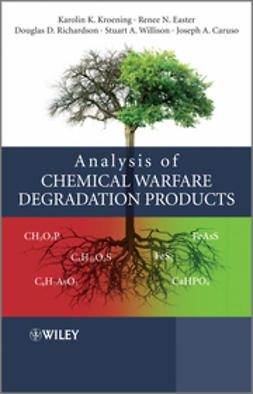 Caruso, Joseph A. - Analysis of Chemical Warfare Degradation Products, ebook
