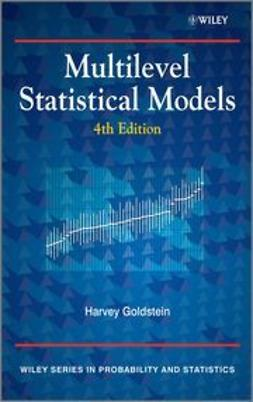 Goldstein, Harvey - Multilevel Statistical Models, ebook