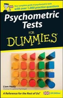 Healy, Liam - Psychometric Tests For Dummies, ebook