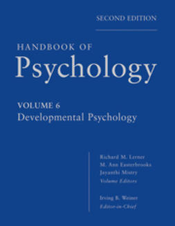 Weiner, Irving - Handbook of Psychology, Developmental Psychology, e-kirja