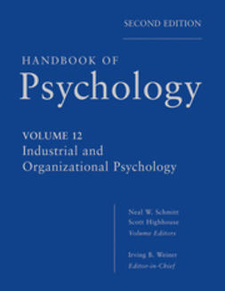 Weiner, Irving - Handbook of Psychology, Industrial and Organizational Psychology, ebook