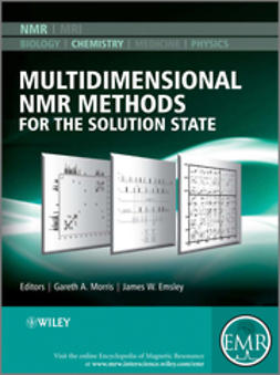 Emsley, James W. - Multidimensional NMR Methods for the Solution State, ebook