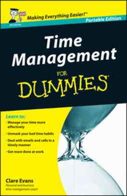Evans, Clare - Time Management For Dummies<sup>&#174;</sup>, ebook