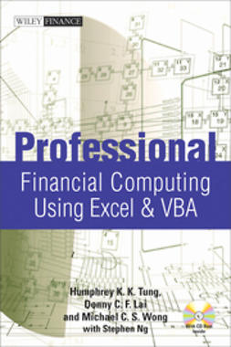 Lai, Donny C. F. - Professional Financial Computing Using Excel and VBA, e-bok