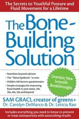 DeMarco, Carolyn - The Bone-Building Solution, ebook